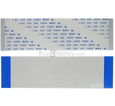 100mm Length 30 Pins 1.0mm Pitch Bottom Contact FFC/FPC Flex Cable ER3228